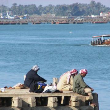 انخفاض التراكيز الملحية في شط العرب جرّاء الأمطار وفتح نهر الكارون