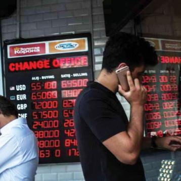 رؤوس الأموال تفر من تركيا ومؤشر البطالة يرتفع فيها حتى 11.1 من المئة
