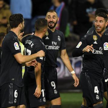 ريال مدريد يستغل سقوط برشلونة  برباعية في سيلتا فيجو بالليجا