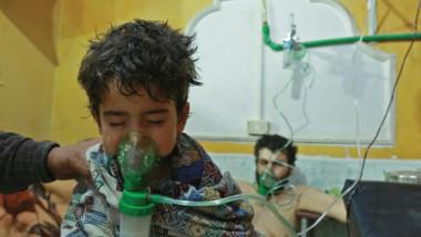 قصف بغازات سامة على حلب يصيب 107 مدنيين