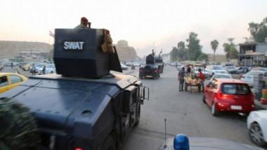 القبض على ارهابيين سرقوا شركة مقاولات في أيمن الموصل