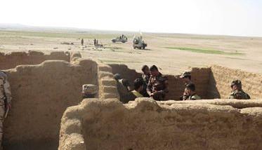 تدمير مضافات لداعش جنوب نينوى