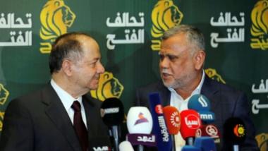 الكشف عن هدف زيارة بارزاني الى بغداد