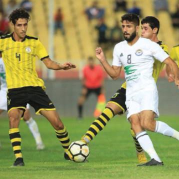 اتحاد الكرة يسعى لتنظيم مباراتين وديتين للأولمبي امام عمان