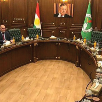 الديمقراطي يبدأ جولة جديدة من مباحثات تشكيل حكومة الإقليم في السليمانية
