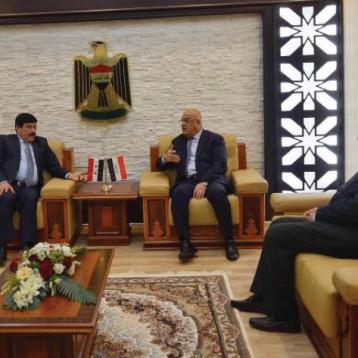 العراق وسوريا يبحثان إعادة العـلاقات  الاقتصادية الى مستواها الطبيعي