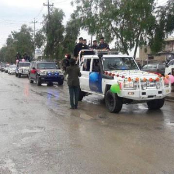 القوّات العراقية تؤكد هيبتها في الموصل خلال احتفالها بيوم النصر على داعش