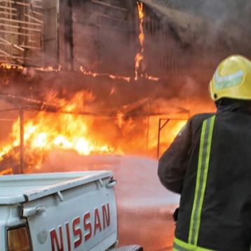 تفاقم ظاهرة الحرائق في اسواق بغداد والمحافظات سببهاعدم توفير متطلبات السلامة والوقاية