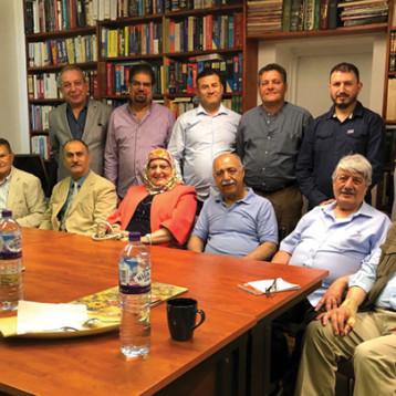 تقرير- اجتماع الهيئة الاستشارية العراقية للإصلاح والتنمية