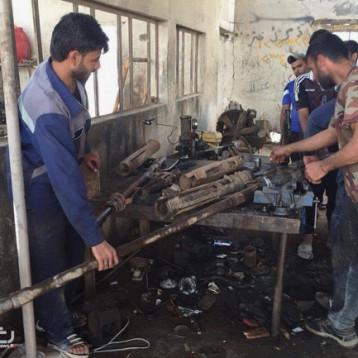 عشيرة في البصرة أهدت الحشد والجيش 7 دبابات
