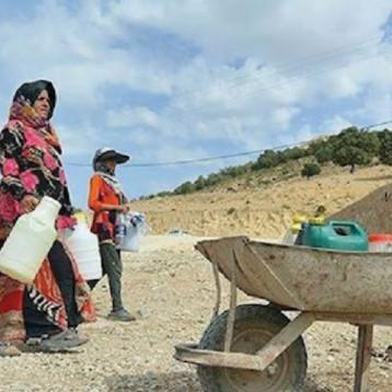 مشكلة المياه في إيران