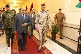 عبد المهدي يحضر احتفالية وزارة الدفاع احتفاء بالنصر