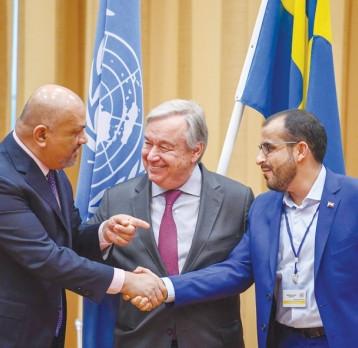 الخارجية ترحب باتفاق أطراف النزاع في اليمن