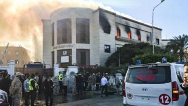 العراق يتضامن مع ليبا في حادث تفجير الوزارة