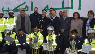اتحاد الدراجات يحتفي باعياد الجيش والشرطة