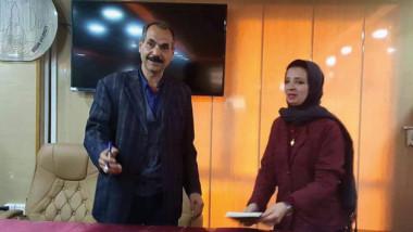 البريسم يوقع «عراقي يكتب سيرته» في جامعة ميسان