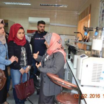 التطوير الصناعي تواصل تعاونها مع الجامعات العراقية وفتح ابوابها امام الطلبة