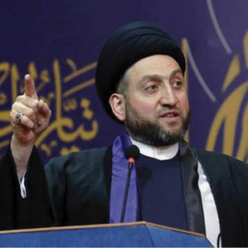 الحكيم ووفد صدري يطالبان القوى السياسية بتجنيب العراق التصعيد الأميركي الايراني