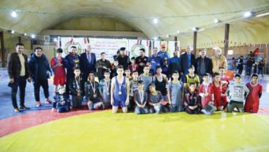 المركز الوطني للموهبة الرياضية يحرز لقب اعياد الشرطة والجيش بالمصارعة