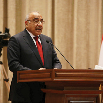 علي مهدي: قائمتا سائرون والفتح كلفتا عبد المهدي بالحكومة وحوارهما لن ينقطع