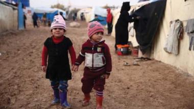 وفاة 15 طفلاً سوريا نازحاً غالبيتهم  من الرضع جراء البرد القارس
