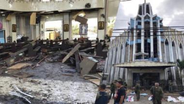 17 قتيلا جراء قنبلتين استهدفتا كنيسة بجنوب الفيليبين