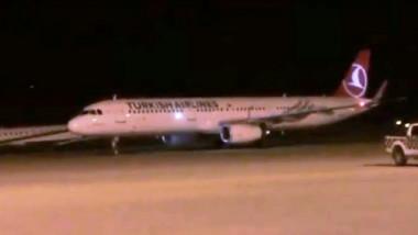 وصول أول طائرة تركية إلى السليمانية بعد رفع الحظر عن مطارها