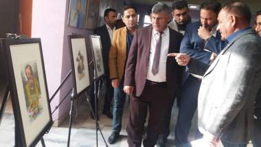 «شباب الصدر» تنظم معرضا تشكيليا للفنان الراحل عبد سلمان البديري