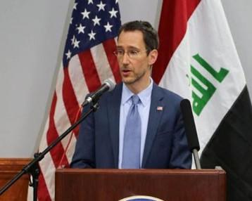 السفارة الأميركية: رئيسا البرلمان والحكومة اكدا عدم الغاء اتفاقية الاطار الستراتيجي بين البلدين
