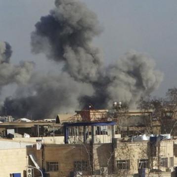 حقوق الانسان: ضحايا قصف التحالف الدولي 20 الف مدني في العراق وسوريا