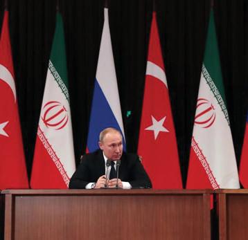 قمة «سوتشي» أخفقت في قضية ادلب  والمنطقة الآمنة على الحدود التركية