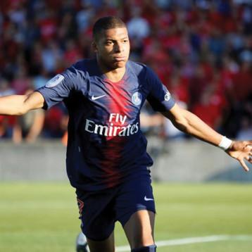 مبابي أفضل هداف في تاريخ دوري أبطال أوروبا في سن 20 عاماً