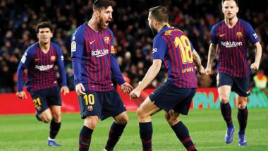 ميسي ينقذ برشلونة من فخ فالنسيا