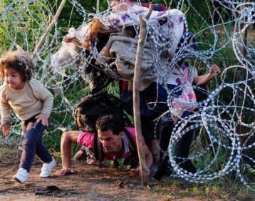 طرد عوائل عراقية من قبل السلطات الهنغارية خارج حدودها