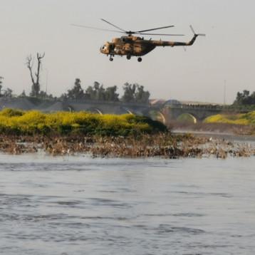 البحث مستمر عن 70 من المفقودين بحادثة عبّارة الموت بالموصل