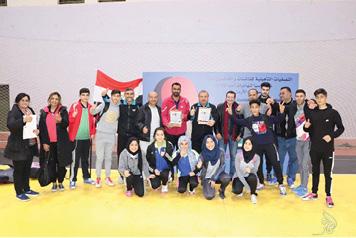 المركز الوطني بكرة الطاولة  يسهم بالتأهل إلى نهائيات آسيا