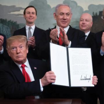 سيادة إسرائيل على الجولان انتهاك شديد للقانون الدولي ويزعزع استقرار الشرق الاوسط