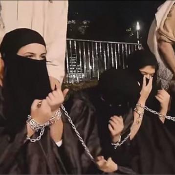 عناصر داعش تفتي بما حرم الله لاشباع غرائزها والكبت الجنسي