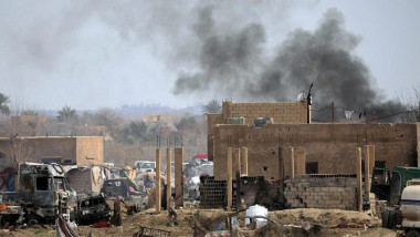 قوات سوريا الديموقراطية تستأنف هجماتها  على آخر جيب لداعش شرقي سوريا