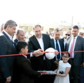 وزير الكهرباء يفتتح محطة سومر الجديدة الثانوية (33 /11) ك.ف في ذي قار