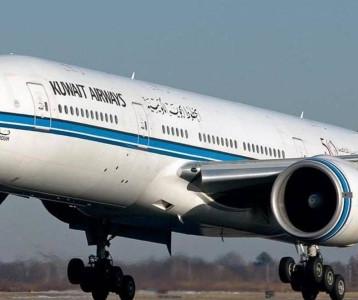 """الخطوط الكويتية توضح خبر منع"""" 9 دول منها """"العراق"""" من ركوب طائراتها"""