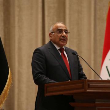 اكمال الكابينة الوزارية متوقف على رغبة عبد المهدي بطرح المرشحين دفعة واحدة