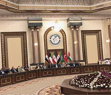 الحلبوسي: العراق لم يعد قلقا من سياسة المحاور ويمضي صوب شراكات استراتيجية واعدة مع دول الجوار
