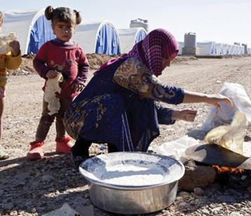 تقرير اممي.. مازال هناك أكثر من ١.٧ مليون شخص مشرد في مخيمات اللاجئين