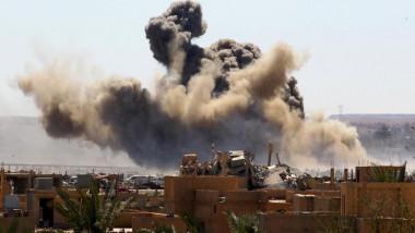 الحكومة السورية تكثف ضرباتها  الجوية  في الشمال الغربي