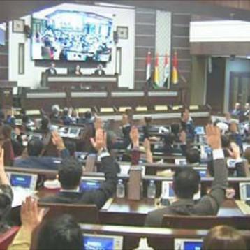 برلمان كردستان ينتخب رئيس الإقليم