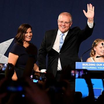 فوز مفاجيء للائتلاف المحافظ في أستراليا في الانتخابات التشريعية