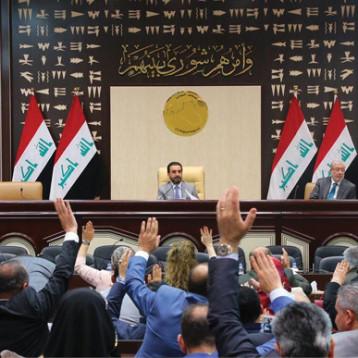 """نائب عن سائرون يحمل الحلبوسي """" الموت السريري """" لمجلس النواب"""