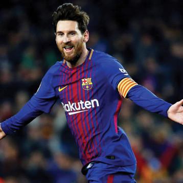 ميسي أفضل هداف في الدوري الإسباني للمرة السادسة في تاريخه