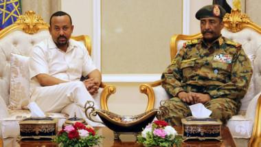 الأمن السوداني يعتقل عددا من قادة الاحتجاج المطالبين بالسلطة المدنية اثر زيارة آبي